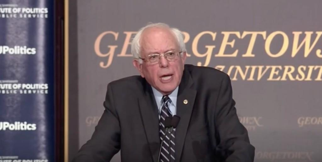 Bernie at Georgetown