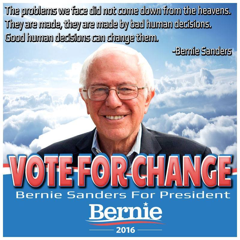 Bernie sanders good decisions can turn bad situations around nnj
